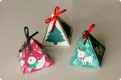 Oba, tem presente! Caixinhas de Natal para download grátis - DIY - Tuty - Arte & Mimos www.tuty.com.br