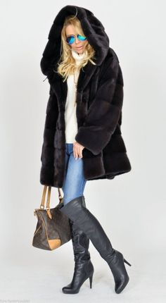 mink furs - exclusive royal saga mink fur coat