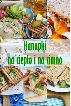 Moja smaczna kuchnia: Kanapki na ciepło i na zimno Polish Recipes, Ciabatta, Clean Eating, Lunch Box, Food And Drink, Healthy Recipes, Meals, Snacks, Dishes