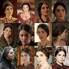 Mahidevran Sultan Suleyman, Kosem Sultan, Theatre Costumes, Ottoman Empire, Lgbt, Tv Shows, Cute, Movie Posters, Closer