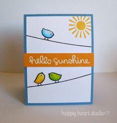 Lawn Fawn - Hello Sunshine