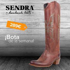 Esta primavera acompáñala de botas #Sendra y hazte con el modelo Debora Rustic Pelle ¡También disponible en gris! / This spring, discover the model Debora Rustic Pelle....isn't it lovely?  #ShopBoots #Boots #Botas #SendraBoots
