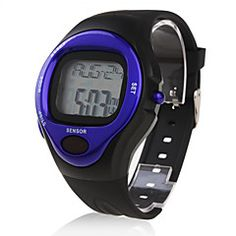 Calorie Counter Pulse Heart Rate Monitor Stop Automatic Watch - Blue. Get unbeatable discount up to 60% Off at Light in the Boxs with Coupon and Promo Codes.