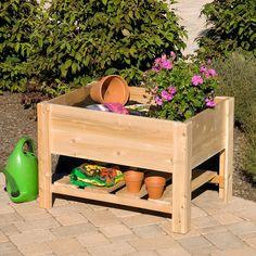 wooden planter box!