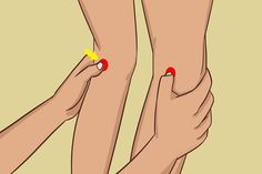 If You Rub These 2 Points Behind Your Knees, This Is What Happens To Your Body (VIDEO)