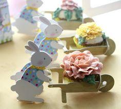 Lapins de Pâques par Cupcake