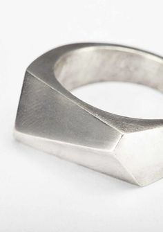 Kester Black stirling silver ring