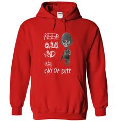 Call of Duty Red Hoodie T Shirt, Hoodie, Sweatshirt