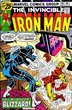Iron Man #86, May 1976, cover by Ed Hannigan and Frank Giacoia