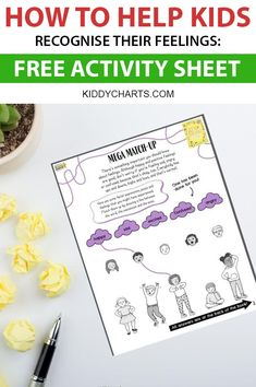 We have been sharing with you some of the fabulous mindfulness resources from Upside Down Books on KiddyCharts. Mindful Activities For Kids, Feelings Activities, Free Activities, Kids Learning, Thoughts For Kids, Thoughts And Feelings, Positive Thoughts, Mindfulness For Kids, Mindfulness Activities