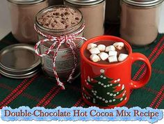 Double-Chocolate Hot Cocoa Mix Recipe