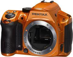 Pentax K-30 16 MP CMOS Digital SLR Crystal Orange