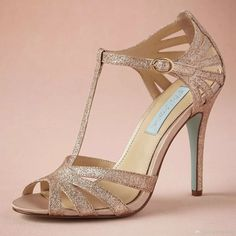 free shipping, $75.43/pair:buy wholesale  champagne glittery wedding shoe handmade pumps t-strap leather sole comfortable pumps toe 4 leather wrapped heels women sandals dance shoes yes,plastic,ankle on arrowma's Store from DHgate.com, get worldwide delivery and buyer protection service.