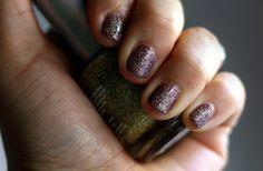 Most glittery nail polish ever! #Glitter #Sparkle