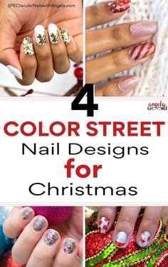 Tis the season for holiday parties, sparkly dresses and oh-so-much festive cheer. Take your Christmas look to the next level with these holiday nail design. Get holiday ready nails in minutes with Color Streets updated Christmas nail inspiration. Style your nails this season with these gorgeous colors everyone will love. #winternaildesigns #christmasnaiildesigns #christmasnails Holiday Nail Designs, Winter Nail Designs, Holiday Nails, Christmas Nails, Christmas Spectacular, Sparkly Dresses, Nail Polish Strips, Color Street Nails, Nail Bar