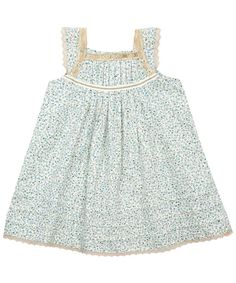 I don't think liberty dresses could be any sweeter. (Unless Iris was in them....)