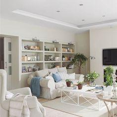 El blanco, protagonista de una casa de dos plantas