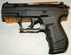 Walther's P22Loading that magazine is a pain! Get your Magazine speedloader today! http://www.amazon.com/shops/raeind