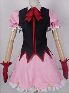 Vicwin-One Beyond the Boundary Kuriyama Mirai Cosplay Costume *** You can find out more details at the link of the image.