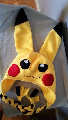 Pikachu Pokemon Go Fleece Child Toddler Adult Winter Hat  Great Halloween  Hat. Cappelli In PileCappello ... 58739e78c9fc
