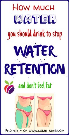 What happens to your body? Wellness Tips, Health And Wellness, Health And Beauty, Health Fitness, Health Facts, Health Tips, Health Book, Medical Brochure, Water Retention
