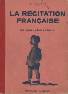 Darcy saved to officeSouché, La Récitation française au Cours Élém. Book Cover Design, Book Design, Fernand Nathan, Foreign Language Teaching, Early Readers, France, Lectures, Home Schooling, French Language
