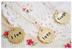 Bridesmaids Necklaces - $39.99. http://www.bellechic.com/products/15665acc15/bridesmaids-necklaces