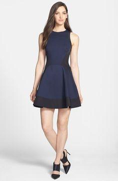 Dark navy blue dress shoes