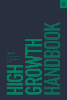 """Read """"High Growth Handbook Scaling startups from 10 to people"""" by Elad Gil available from Rakuten Kobo. Well known technology executive and angel investor Elad Gil has worked with high growth tech companies like Airbnb, Twit. Got Books, Book Club Books, Books To Read, Reading Online, Books Online, Nyt Bestseller, Books 2018, English, What To Read"""