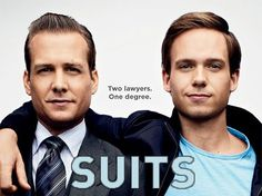 The new Batman and Robin! :)) Suits is an American series about two lawyers who solve cases through thick and thin. They are now my favorite partners-in-crime in television. :))