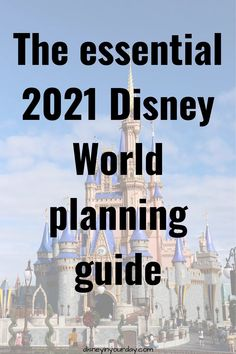 Do you have a trip booked to go to Disney World in 2021? Or maybe you're thinking about trying to plan something for the summer or the fall? If so, it's more important now than ever to do a little research and be prepared. Check out these resources to learn the best planning techniques!