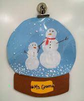Art with Ms. Gram: Snowglobes (1st)