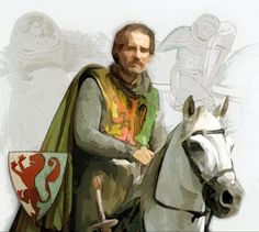 23rd great grandfather, William the Marshal (of England).