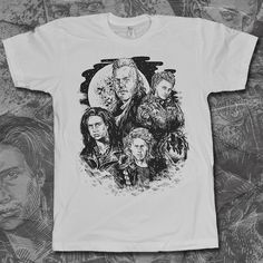 Sleep all day. Party all night. Never grow old. Never die. Lost Boys tee by 8bit Zombie