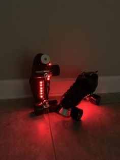 Excited to share this item from my #etsy shop: Bluetooth Controlled Dual Strand Roller Skate Lights