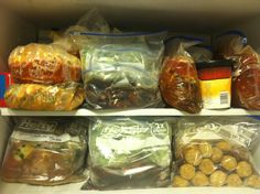 Crock Pot Freezer Meals This woman is very well organized and gives detailed tips on assembling meals, great site!