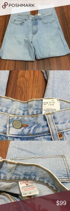 HP 🌈Vintage Lucky Brand Bootcut Light Jeans 34 Pre-owned Lucky Brand Jeans Straight