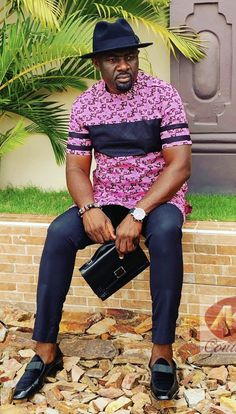 African Wear Styles For Men, African Shirts For Men, African Attire For Men, African Clothing For Men, African Fashion Skirts, African Dresses Men, Nigerian Men Fashion, African Men Fashion, African Dashiki Shirt