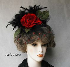 Stylish fascinator hat