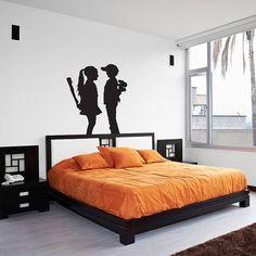 Banksy Boy Meets Girl Vinyl Wall Art Decal