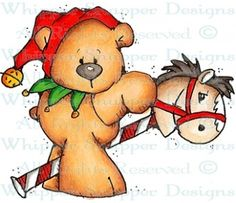 Pony Express - Bears - Animals - Rubber Stamps - Shop