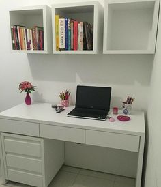 Home office design ideas 1 Bedroom Closet Design, Room Ideas Bedroom, Small Room Bedroom, Home Decor Bedroom, Home Room Design, Home Office Design, Home Office Decor, Study Room Decor, Cute Room Decor