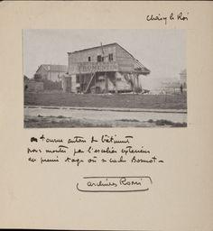 Le bâtiment dans lequel se réfugie Bonnot le 28 avril 1912. Cerné par la police et 10000 personnes, il sera tué au bout de cinq heures de siège.