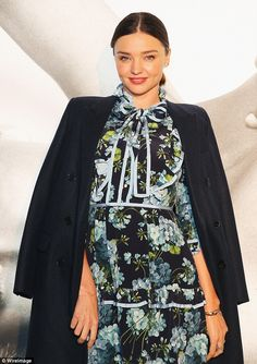 Feel flirty in florals like Miranda in Gucci #DailyMail  Click 'Visit' to buy now!