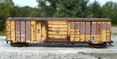 weathering boxcars - Google Search