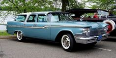 1959 Chrysler Windsor Town & Country Station Wagon