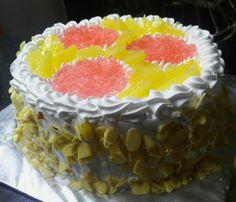Watermelon cream cheese fruit cake Celebrations Fine Confections Mumbai India