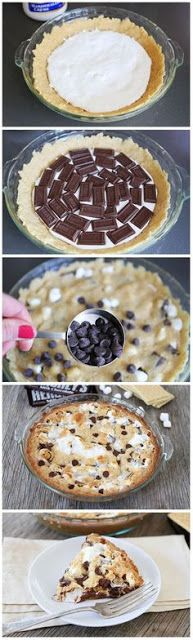 S'mores Pie - FOODGAZM..