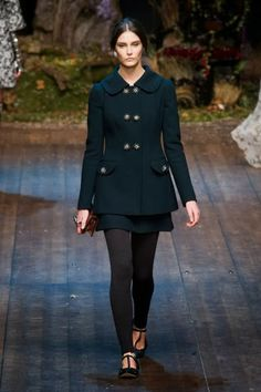 Dolce & Gabbana @ Milan Fashion Week winter 2014-15 - video