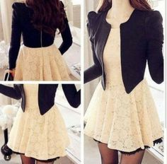looks fresas vestidos Cute Fall Outfits, Chic Outfits, Pretty Outfits, Pretty Dresses, Dress Outfits, Casual Dresses, Short Dresses, Fashion Dresses, Skater Outfits
